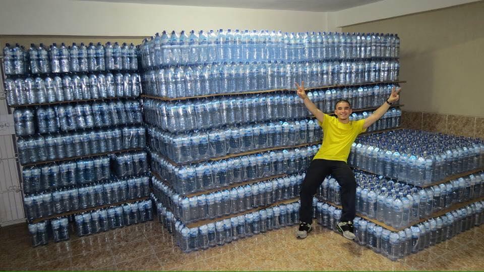 Pedro queria apenas 200 litros e conseguiu 14 mil (FOTO: Arquivo pessoal)