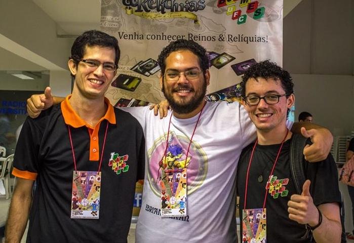 Idealizadores divulgaram o jogo em escolas e universidades de Fortaleza (FOTO: Arquivo pessoal/Bruno Teixeira)