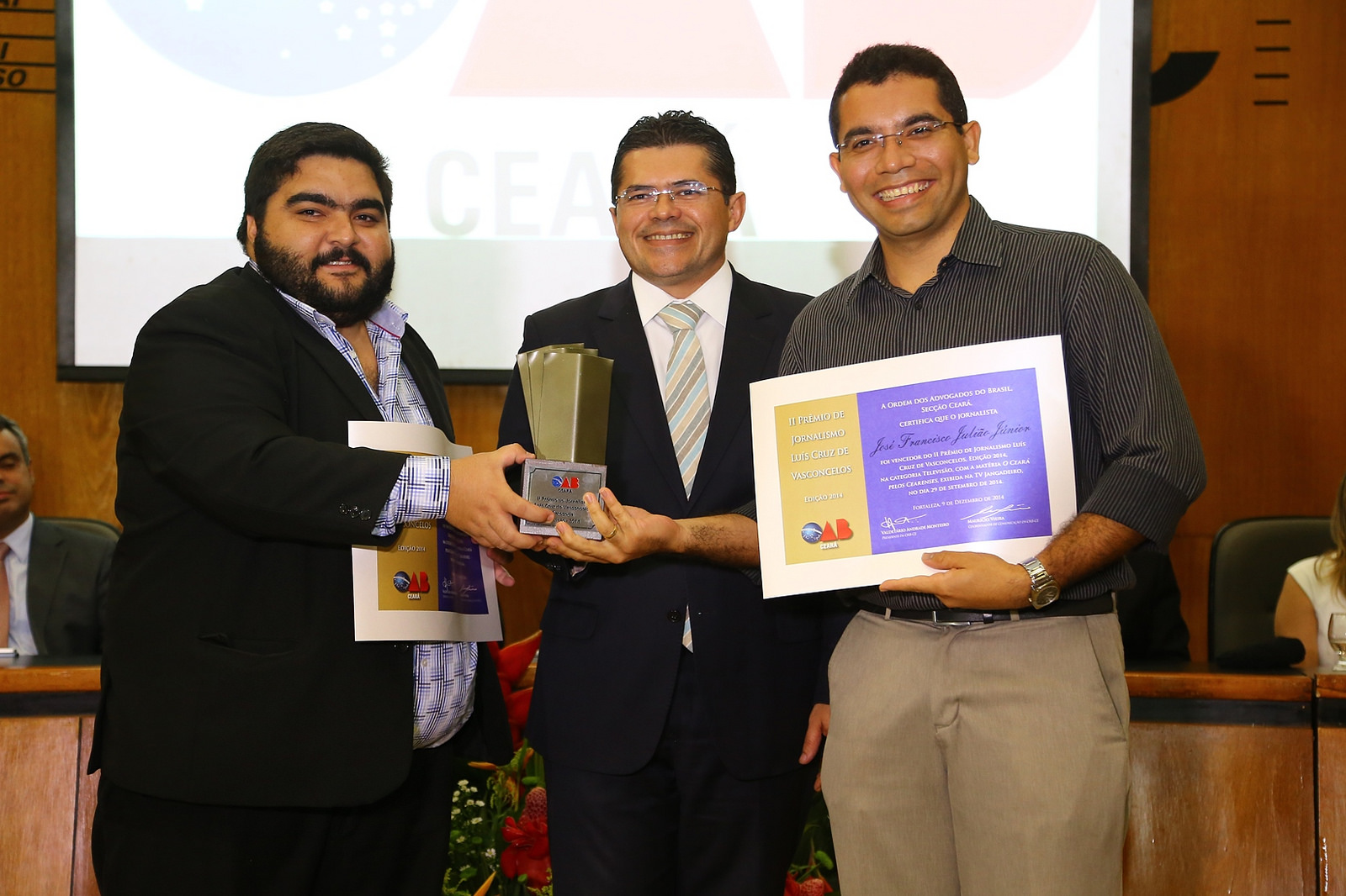 II Prêmio de Jornalismo Luís Cruz de Vasconcelos