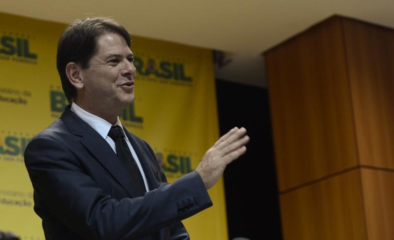 Cid Gomes esteve em Brasília e retorna à Fortaleza nesta terça-feira, 23. (FOTO: Agência Brasil/ Divulgação)