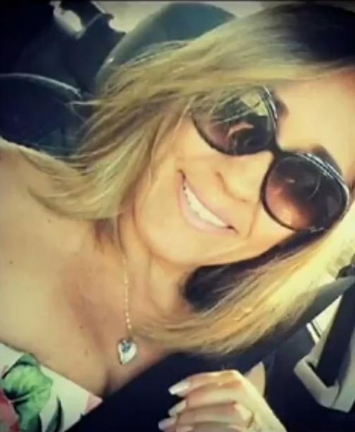 Cristiane Coelho, esposa do militar