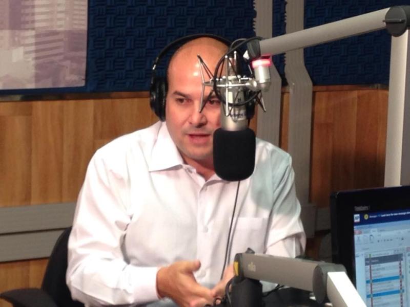 Prefeito de Fortaleza conversou sobre mobilidade urbana nos estúdios da Tribuna BandNews (FOTO: Tribuna do Ceará/Thamiris Treigher)