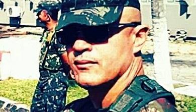 Subtenente Francilewdo Bezerra foi inicialmente o principal suspeito da morte do filho (Foto: Arquivo pessoal)