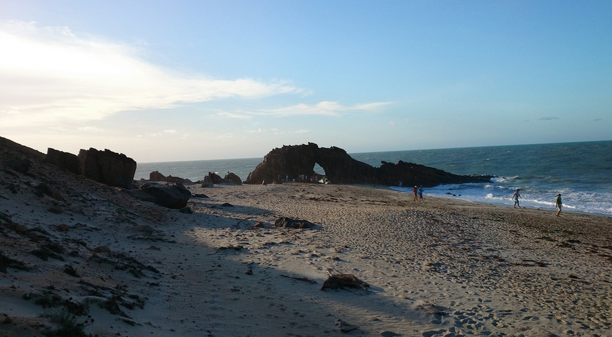 Turista Gaia Molinari foi encontrada morta próximo à Pedra Furada (FOTO: Flickr/ Creative Commons/Rosanetur)