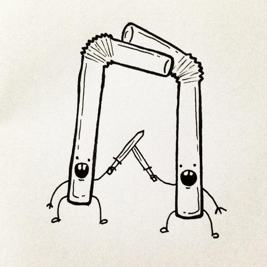 Ilustradora cearense cria desenhos engraçados a partir de situações do cotidiano