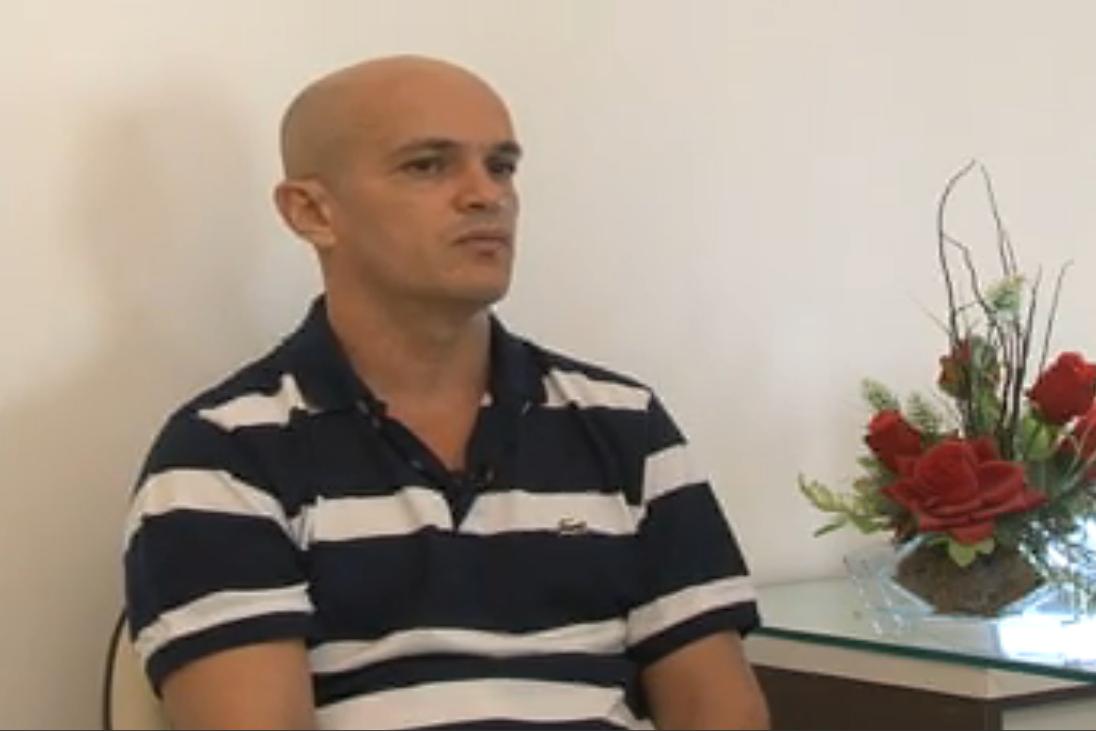 Subtenente deu entrevista exclusiva ao Barra Pesada, da TV Jangadeiro (FOTO: Reprodução TV Jangadeiro)