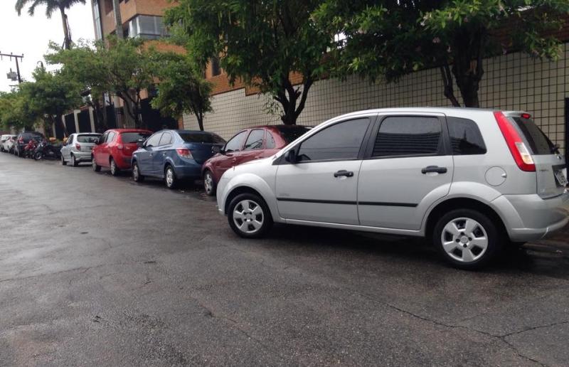 A baliza é uma das manobras mais temidas pelos recém-motorizados (FOTO: Yágo Nascimento/Tribuna do Ceará)
