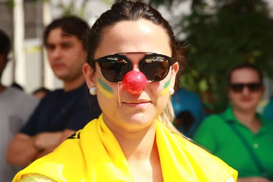 Vem Pra Rua: Ato em Fortaleza pede impeachment de Dilma Rousseff (FOTO: Dorian Girão/TV Jangadeiro)