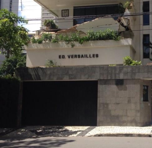 Obra irregular em edifício no Bairro Meireles, em Fortaleza, resultou na morte de um operário (FOTO: Roberta Tavares/Tribuna do Ceará)