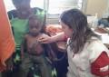 Aline chegou à África no auge da epidemia do vírus Ebola (FOTO: Arquivo pessoal/Aline Studart)
