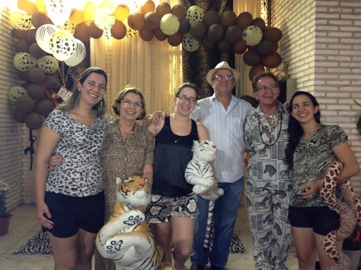 Despedida de Aline, em Fortaleza