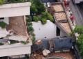 Prédio é localizado no cruzamentos das ruas Ana Bilhas e Joaquim Nabuco (FOTO: Reprodução Whatsapp)