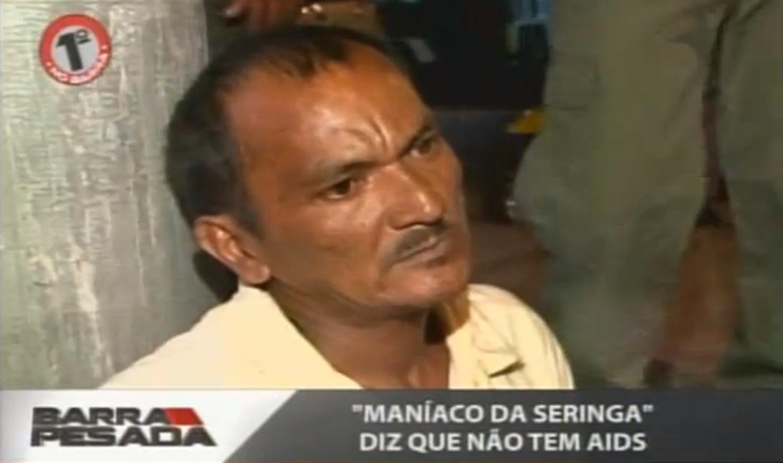 Homem é preso pela quarta vez em Fortaleza (FOTO: Reprodução TV Jangadeiro)