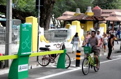 Em dias úteis, são registradas em média 1.657 viagens. Aos domingos, com a Ciclofaixa de Lazer, a média é de 2.156 viagens (Foto: Kaio Machado)