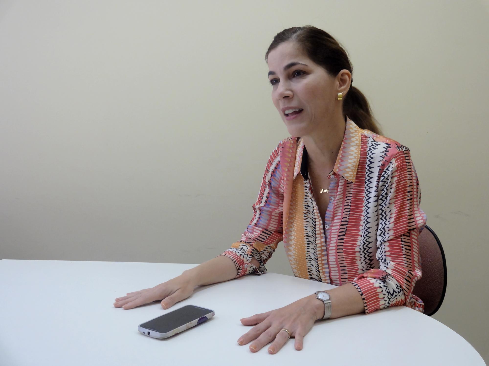 Mayra conversou com Tribuna do Ceará sobre temas polêmicos como aborto e o programa Mais Médicos (FOTO: Tribuna do Ceará)
