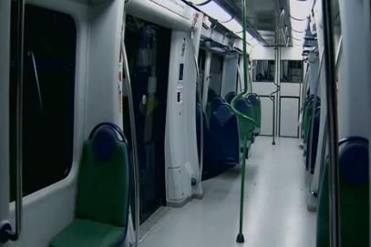 Metrô de Fortaleza possui apenas uma linha principal funcionando (FOTO: Reprodução)