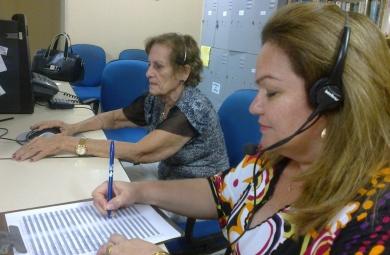 Plantão Gramatical atende todo os tipos de faixa etária (FOTO: Site Prefeitura de Fortaleza)