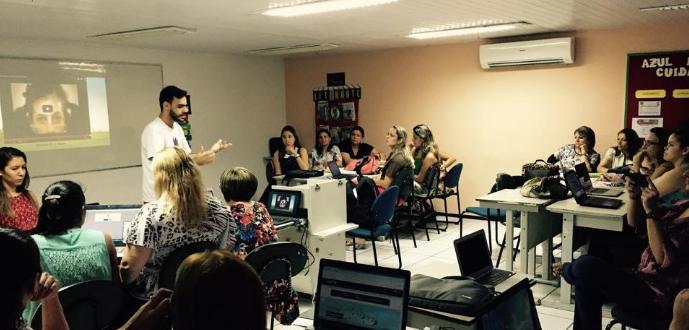 As atividades de Raul como líder do GEG começaram efetivamente em janeiro de 2015 (Foto: Arquivo Pessoal)