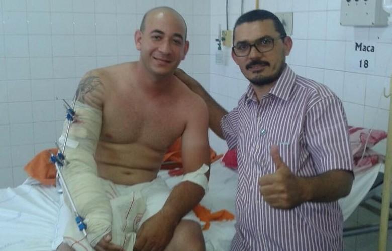 Kaleb se recupera no IJF e está em estado estável (FOTO: Reprodução Facebook)