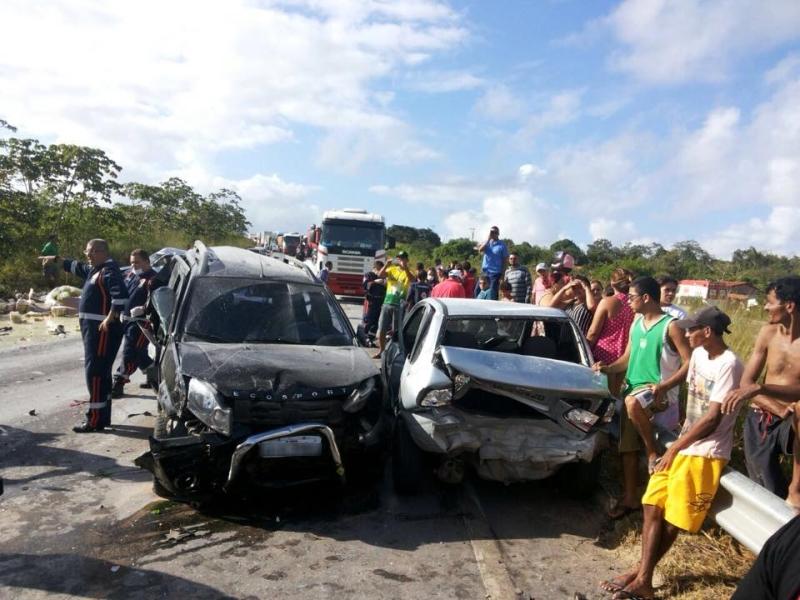 Acidentes são sempre inesperados, saiba o que fazer caso se envolva em alguma ocorrência de trânsito (FOTO: Reprodução/Whatsapp)