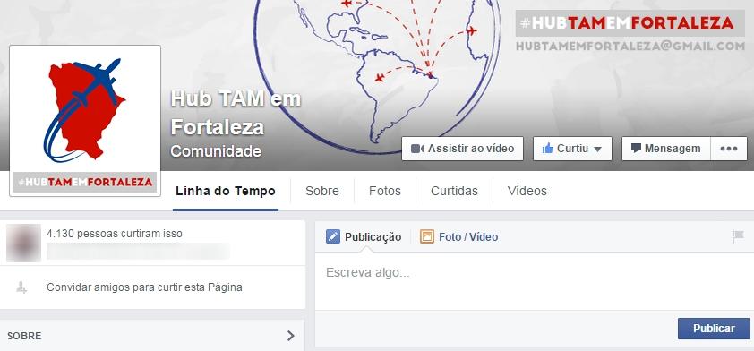 HUB DA TAM EM FORTALEZA