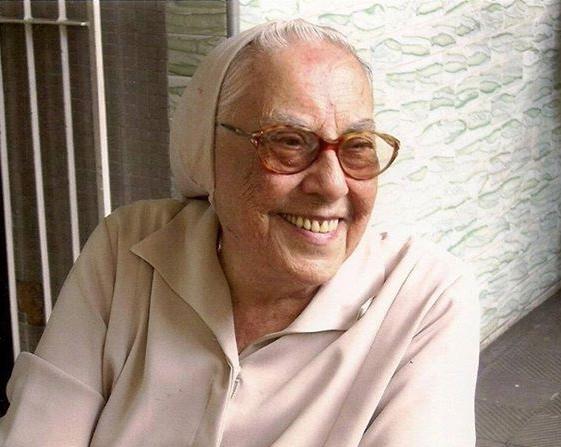 Irmã Elisabeth foi diretora do colégio católico e professora de diversas disciplinas (FOTO: Divulgação)