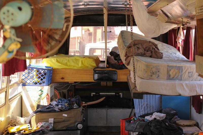 Nômades viajam pelo Ceará