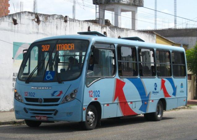 Quatro linhas de ônibus passaram por alterações em seus itinerários (Foto: Mailson Amâncio/Fortalbus/Ônibus Brasil)