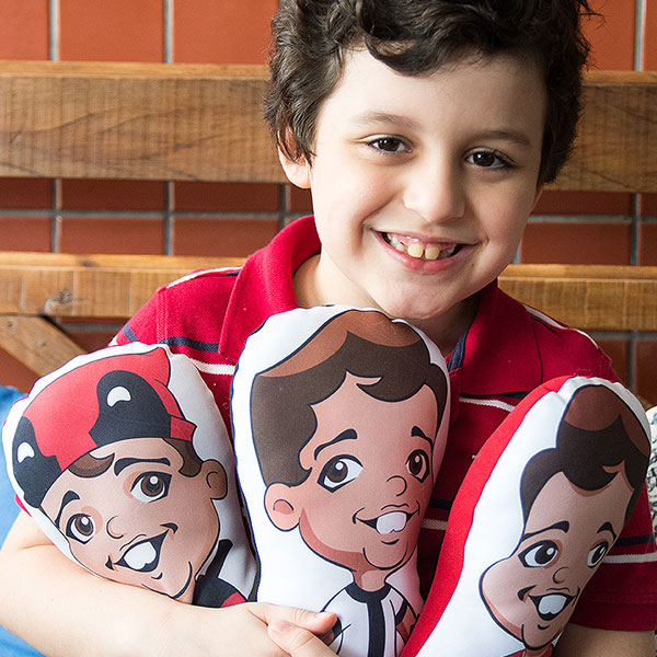 O Euzinho é um brinde, uma espécie de 'mimo' para dar de presente em eventos (FOTO: Divulgação/Euzinho.com)