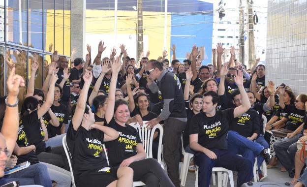 Servidores decidiram pela greve de três dias (FOTO: Divulgação)