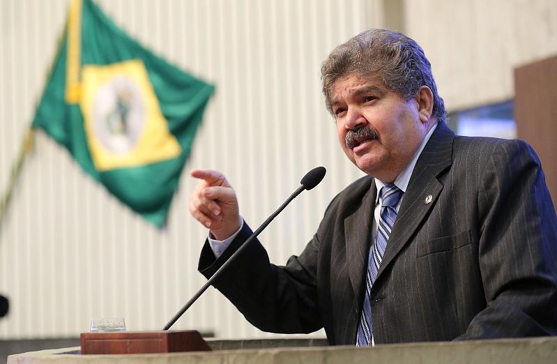 Wellington Landim foi eleito cinco vezes deputado estadual do Ceará. (FOTO: Assembleia Legislativa/ Máximo Moura)