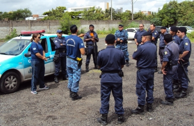 Guardas municipais estão insatisfeitos com medidas tomadas pelo órgão (FOTO: Reprodução Prefeitura de Fortaleza)