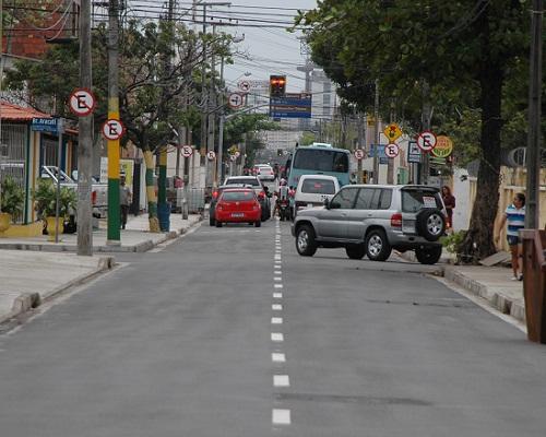 Rua Padre Valdevino receberá intervenções da prefeitura (FOTO: Divulgação)