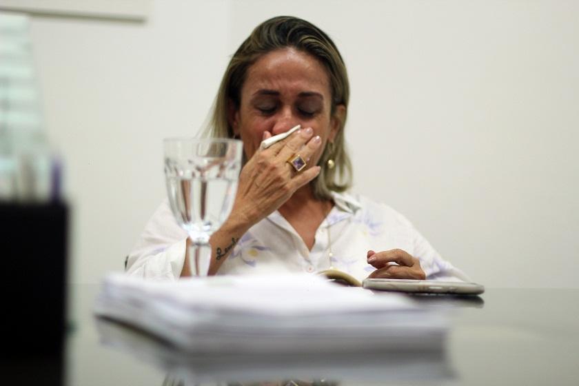 Cristiane Coelho pode pegar uma pena de 12 a 30 anos de prisão (FOTO: Fernanda Moura / Tribuna do Ceará)
