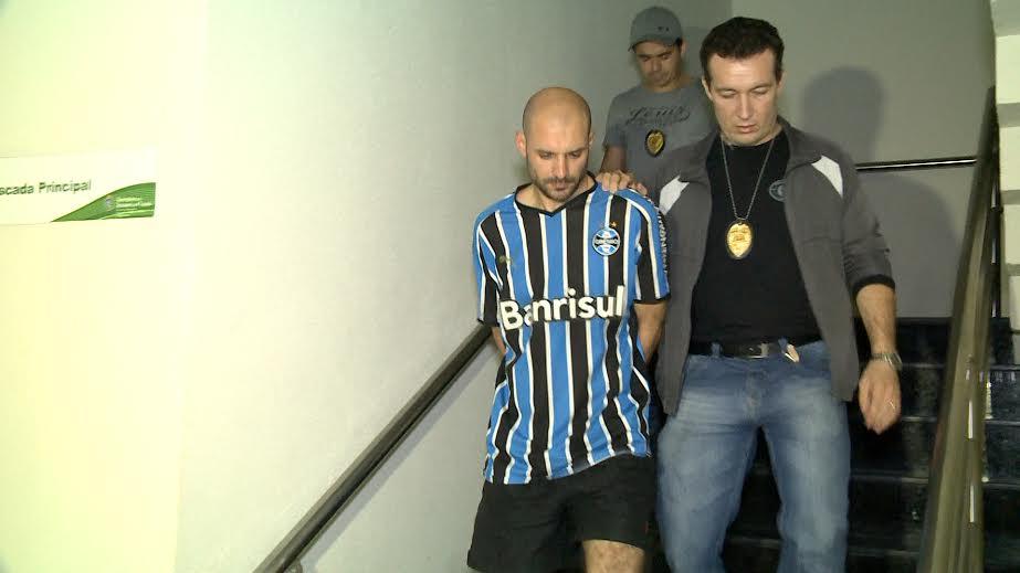 Marcelo Barberena de Moraes confessou que tinha ciúmes da esposa. (FOTO: Reprodução/ TV Jangadeiro)
