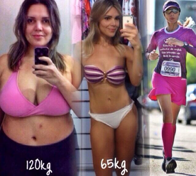 reyce Feijão perdeu 55 kg e mudou radicalmente sua alimentação e rotina de exercícios. (FOTO: Arquivo pessoal)
