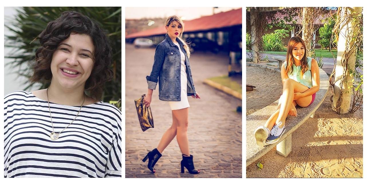 Aline (Penteadeira Amarela), Natasha Brígido e Ellen (Nuwem) falam sobre a profissão blogueira (FOTO: Reprodução Instagram)