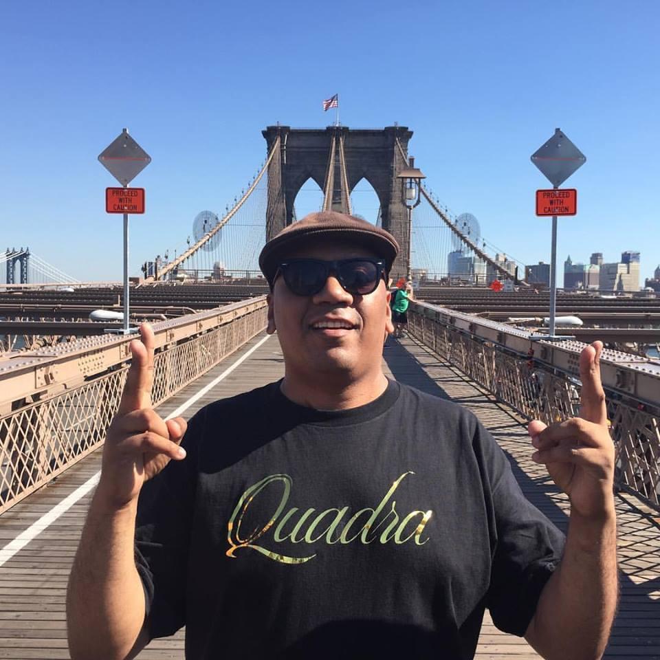 Preto Zezé esteve em Nova York para realizar ações em prol da Cufa Global (FOTO Arquivo pessoal)