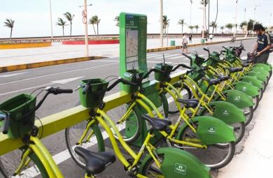 Fortaleza terá mais estações do Bicicletar (FOTO: Divulgação)