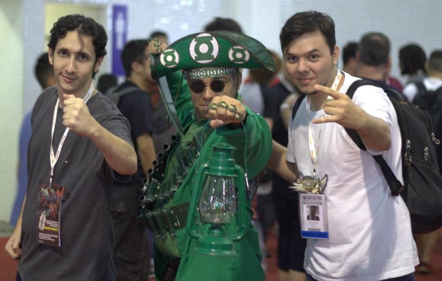 Herói Lampião Verde nasceu como paródia do personagem da DC Comics, o Lanterna Verde (FOTO: Divulgação/Narsvera)