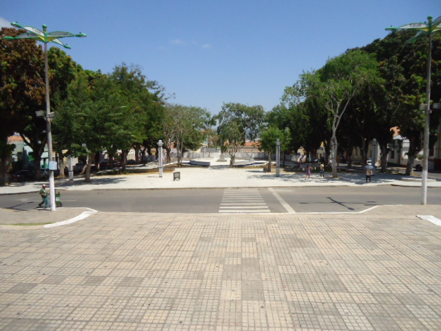 Praça Clóvis Beviláqua, em Viçosa do Ceará (Foto: Divulgação)