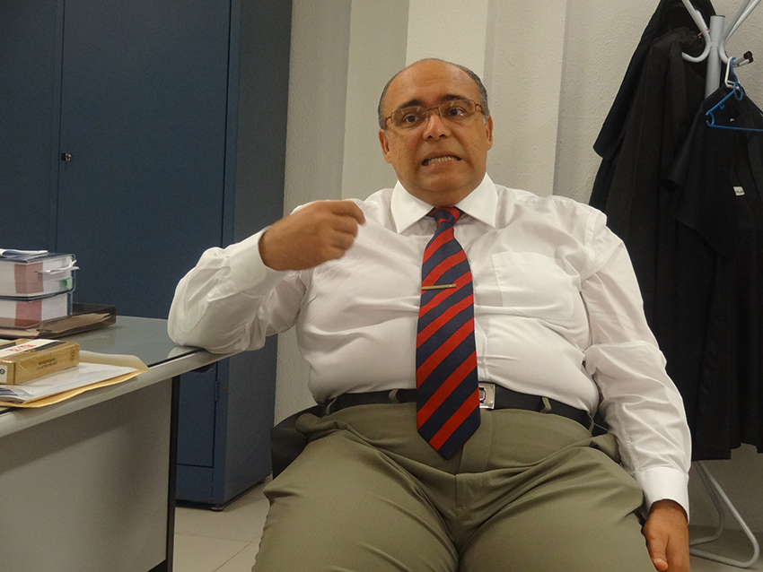 Por sua experiência, o promotor Humberto Ibiapina acredita que Cristiane pode pegar entre 15 a 18 anos de prisão. (FOTO: Tribuna do Ceará/ Rosana Romão)