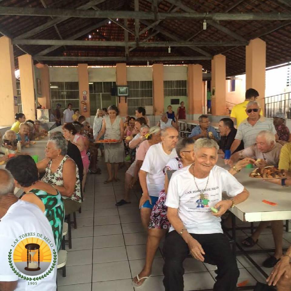 O Lar foi fundado há 110 anos e acolhe idosos acima de 60 anos, de ambos os sexos (Foto: Reprodução)