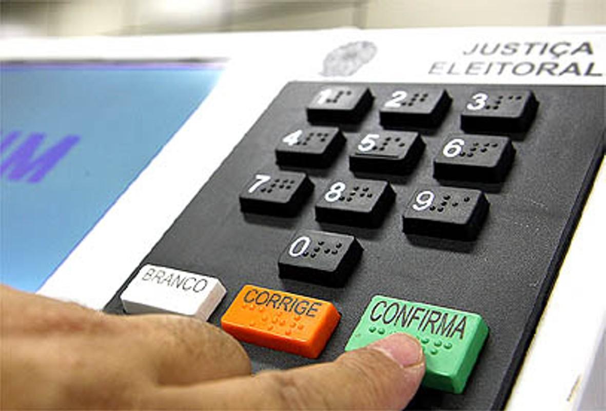 Urna eletrônica deve ser vetada por falta de verba (FOTO: Divulgação)