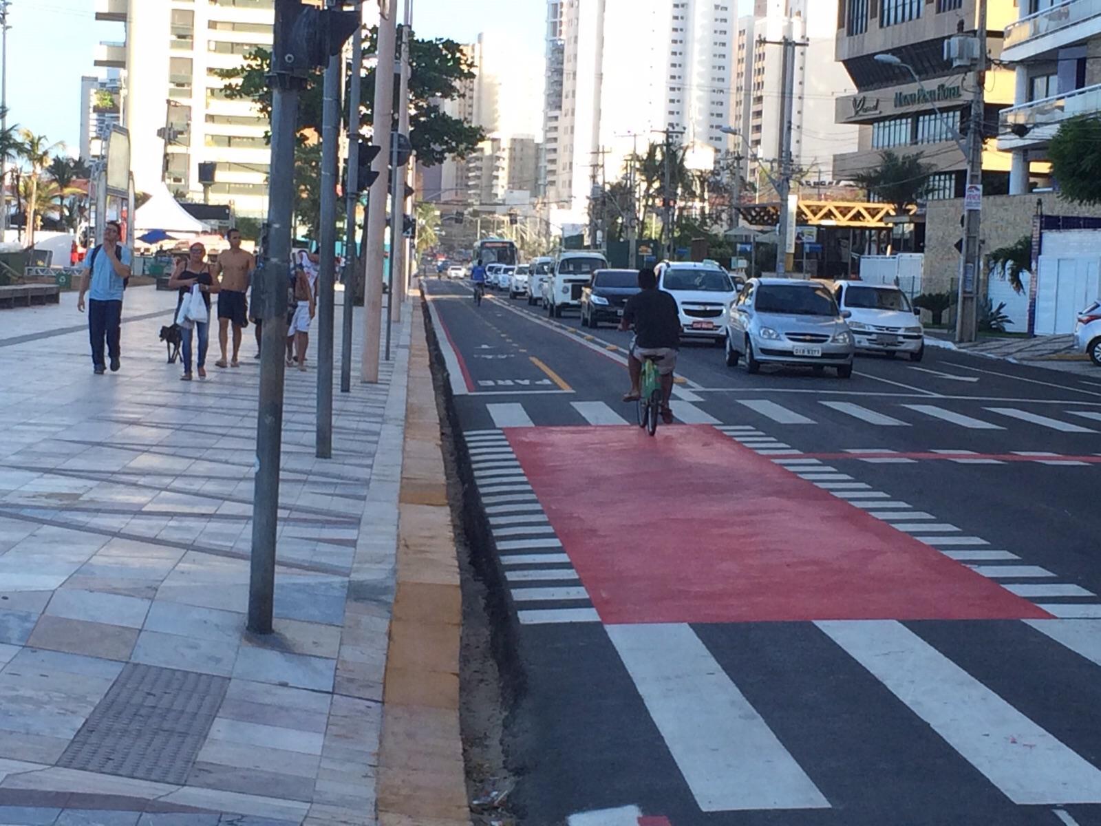Iniciativa prioriza usuários do transporte público de Fortaleza (Foto: Matheus Ribeiro)
