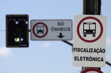 Faixas exclusivas garantem mais rapidez para usuários do transporte público (FOTO: Prefeitura de Fortaleza/Divulgação)