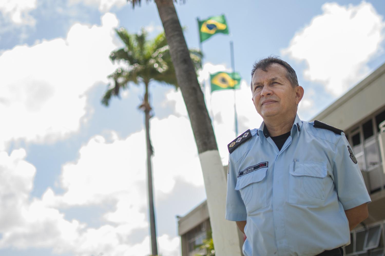 Helder Gomes é policial militar desde 1985 (FOTO: Governo do Ceará)