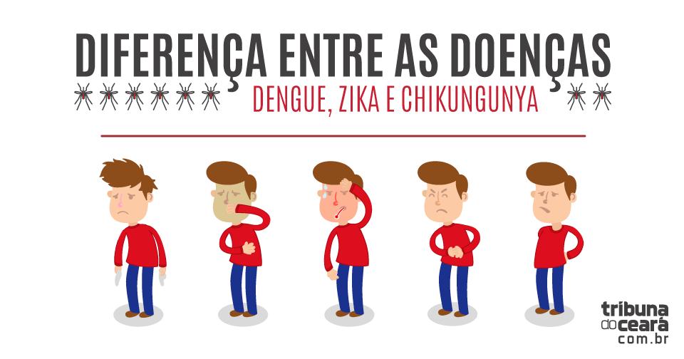 Dengue, chikungunya e zica: saiba as diferenças entre as doenças transmitidas pelo Aedes aegypti