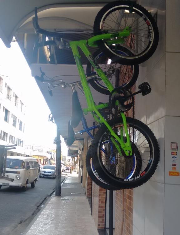 Rua das bicicletas
