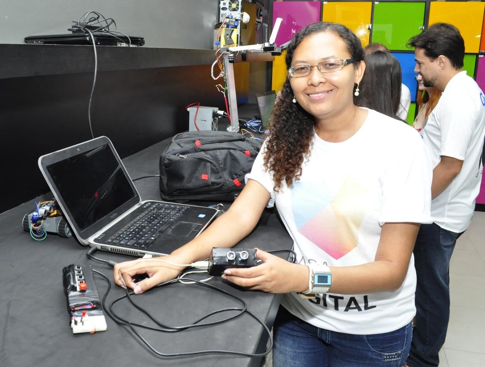 Ana Paula apresentará o CVox em um dos maiores eventos de tecnologia do mundo (FOTO: Blog/Tribuna Científica)